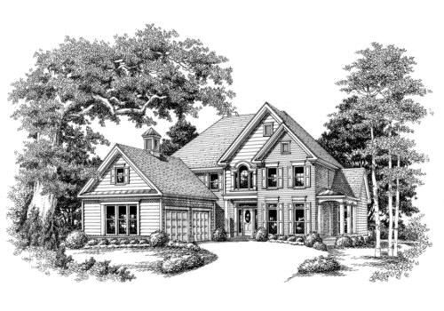 The Latimer~ built by Steele Trademark Homes Inc.