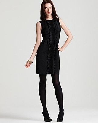 Nanette Lepore classic LBD with fun detail