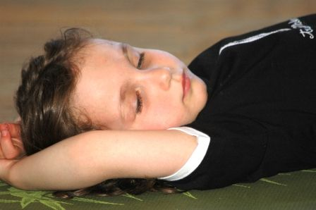 yoga bedtime routine for children love this even