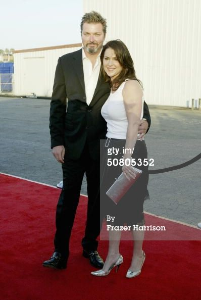 Peri Gilpin with kind, Husband Christian Vincent