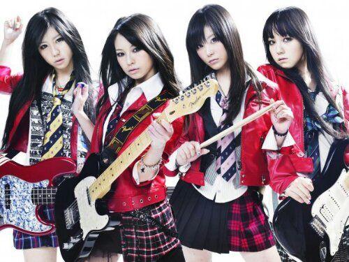 Japanese girl band 'Scandal' Scandal japanese band