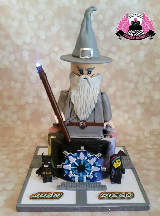 Lego Dimensions Icing Smiles Cake Cake By Cakes Rock Avec
