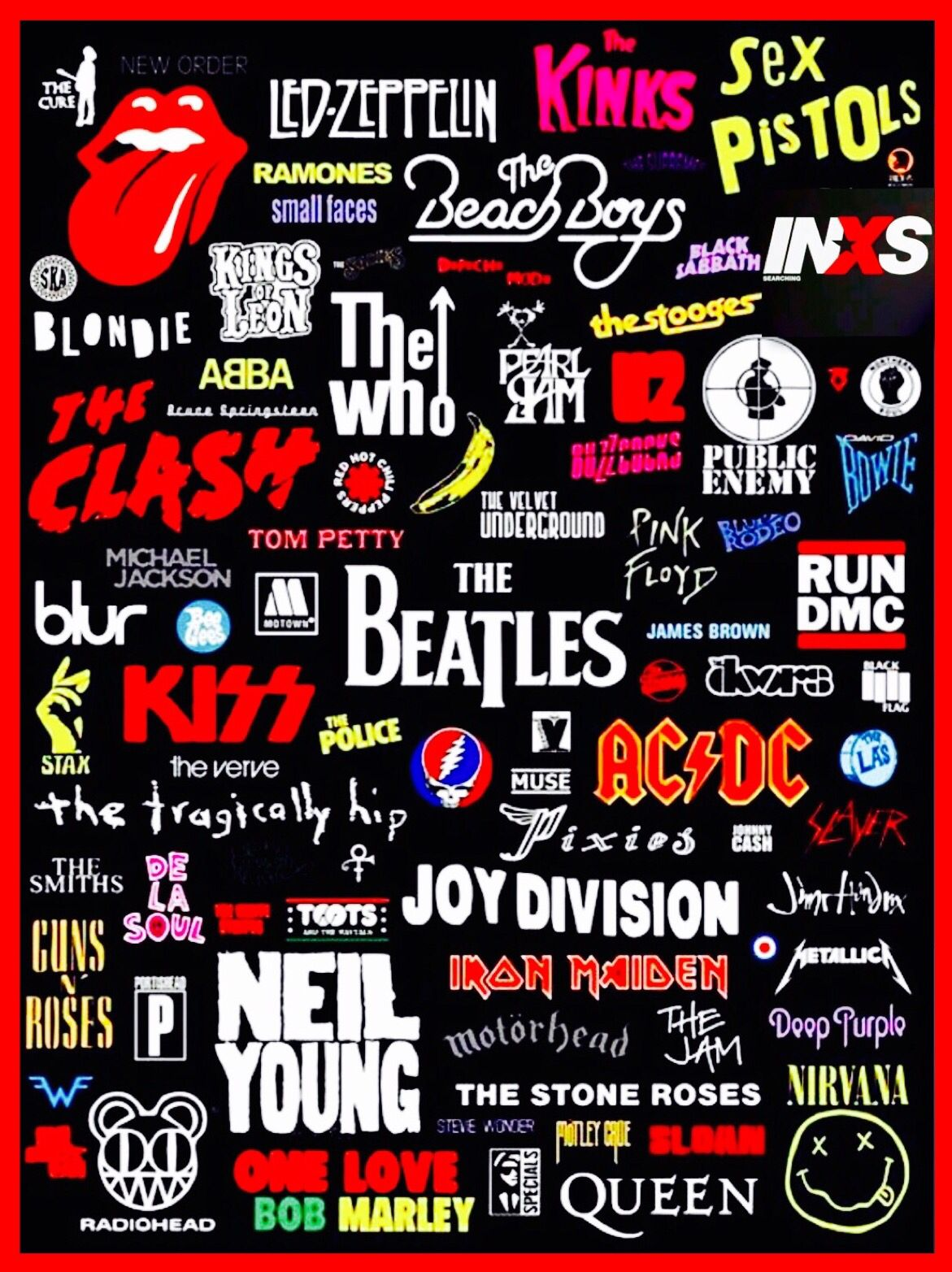 Rock Art Rock Band Posters Rock Band Logos Band Wallpapers
