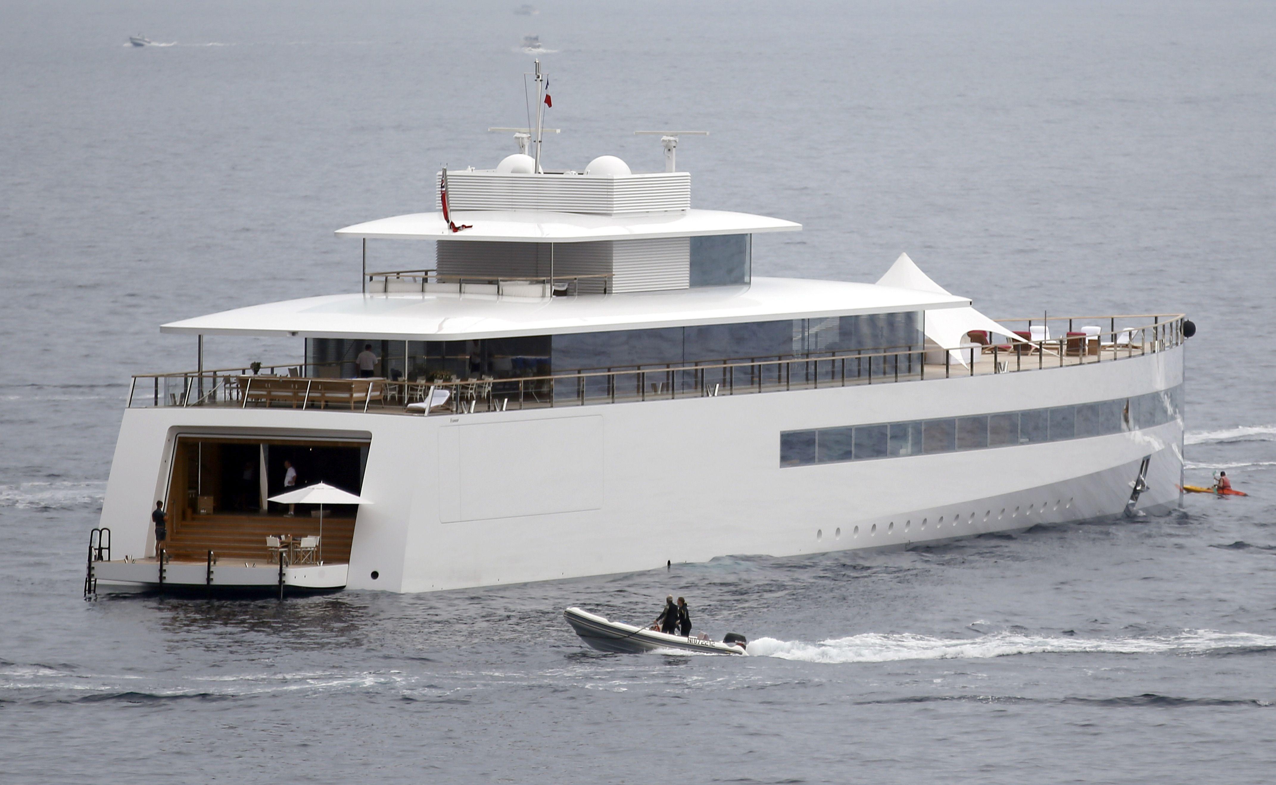 VENUS the super yacht of Steve Jobs. Cost 136,5 million ...