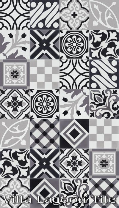 This Is Precisely What I Want For The Floor Of My Dream Kitchen Patchwork Evening Cement Tile From Villa Lagoon