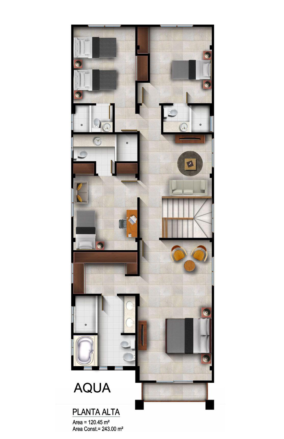Modelo Acqua Casas, 2° piso, Cocina estudio