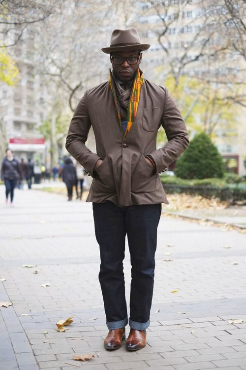 kente lapel - stylin' | ikire jones