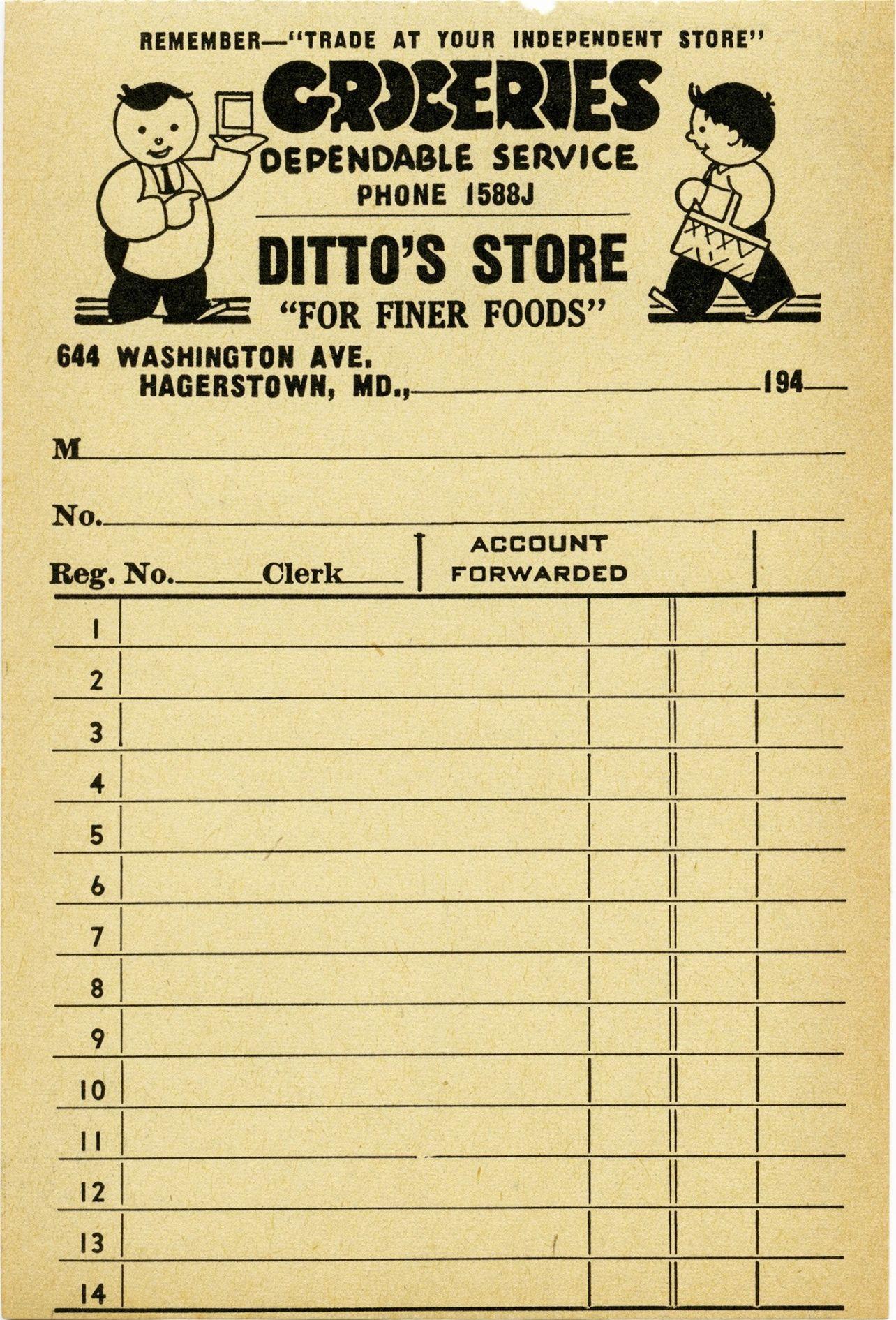 Get Our Printable Grocery Store Receipt Template Vintage Printables Vintage Junk Journal Vintage Labels