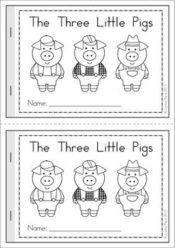 image about Three Little Pigs Printable titled The A few Minor Pigs Package HH Ministry - Tale/Relaxed