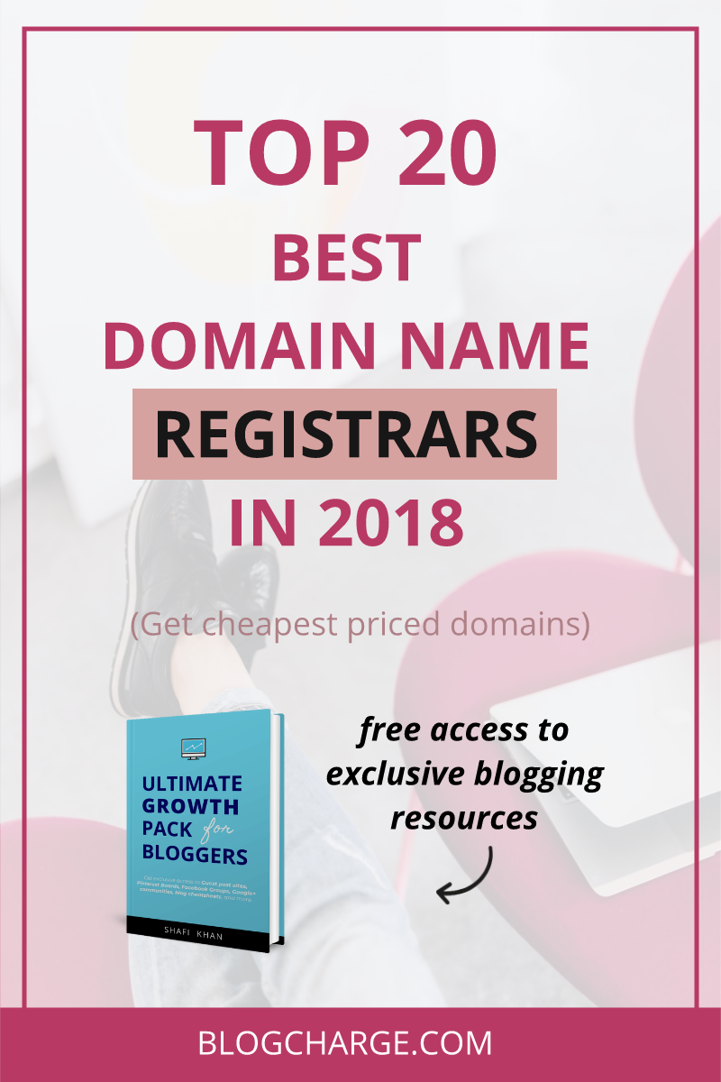 Top 20 Best Domain Name Registrars In 2018 Looking To Register A Brand New Domain Name Check Out The Best Domain Registrars Names Domain How To Start A Blog