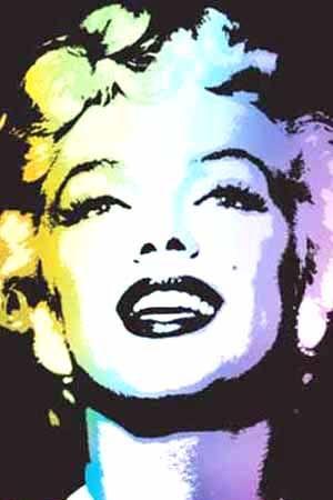 Marilyn Monroe Pop Art ...... #popart #marilynmonroe #iconic #normajeane #pinup #art