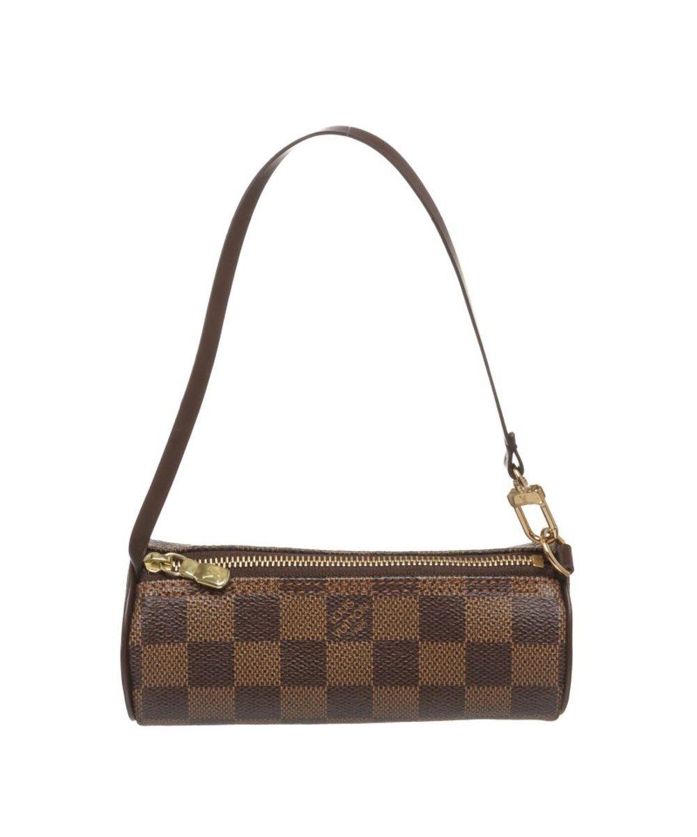 LOUIS VUITTON Pre Owned - Louis Vuitton Damier Ebene Canvas Leather Papillon  Pouch Bag .  louisvuitton  handbags 022906a0bdc95