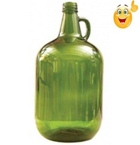 Science The Jgb Enterprises Glass Jar Is Green And Is A 4 Liter Glass Jug That Is Perfect For Fermenting Mead It Personalized Wine Glass Glass Jars Glass Jug