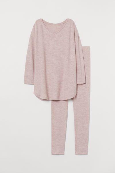 Photo of Pyjamas – Lys rosamelert – DAME | H&M NO