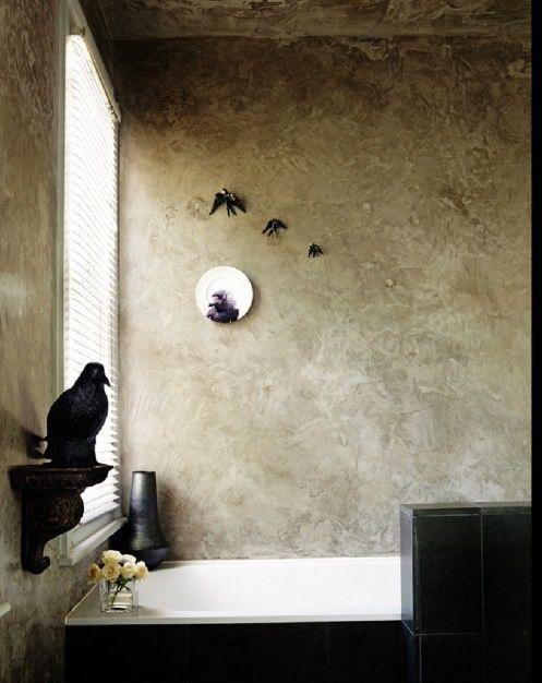 dramatic gothic bathroom design ideas | gothic bathroom