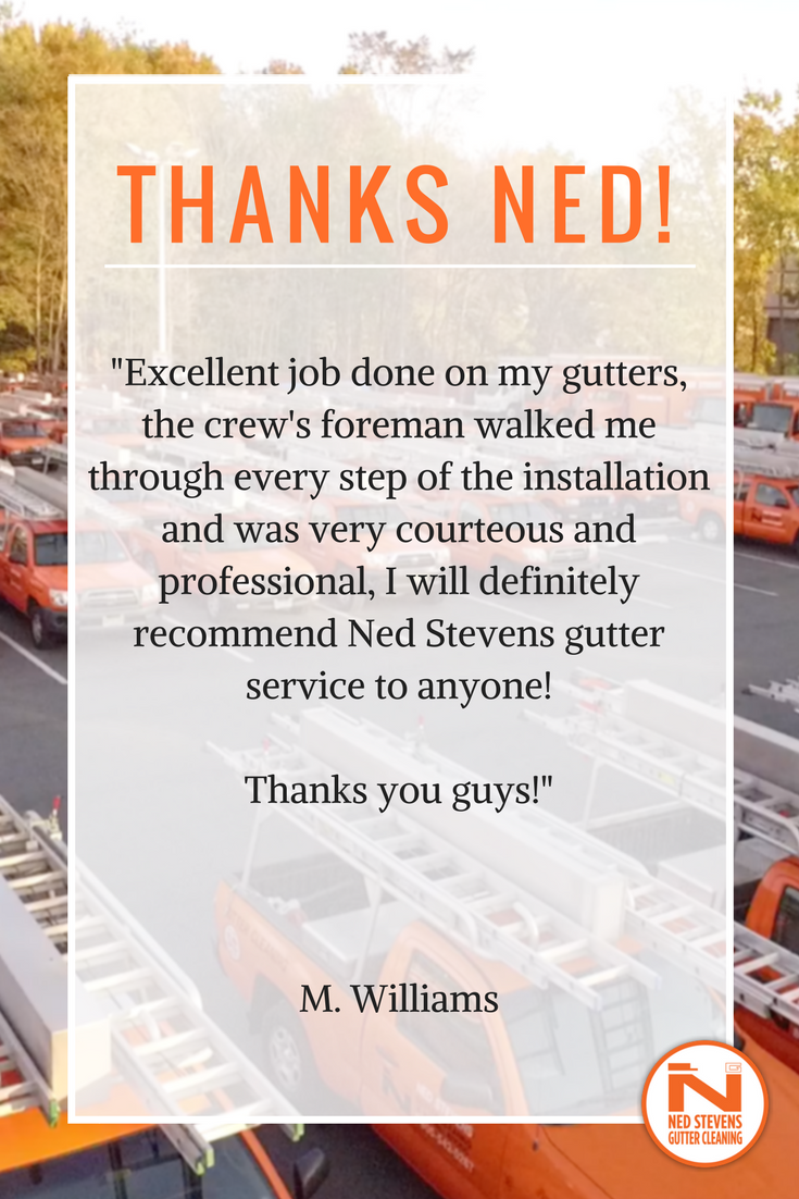 Share Your Experience Send Us An Email At Outreach Nedstevens Com Cleaning Gutters Gutter Services Gutter