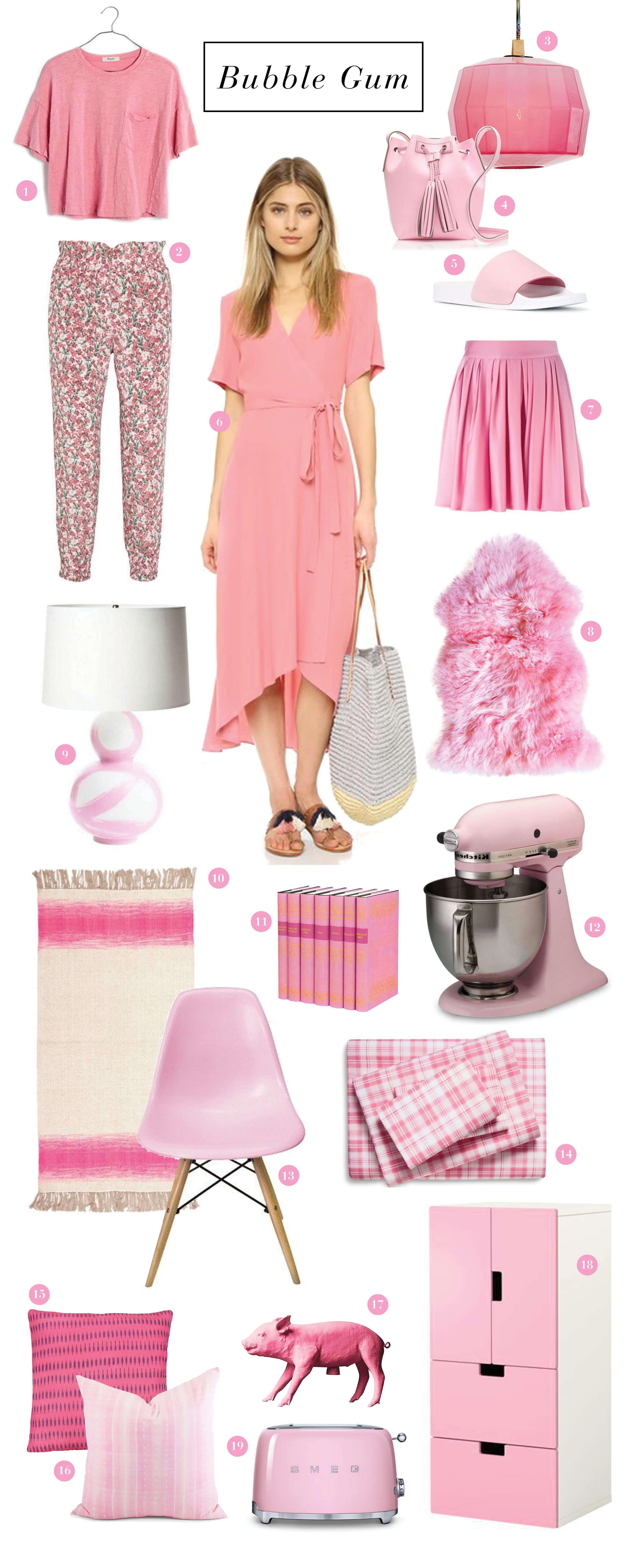 Chew On This : Bubblegum Pink | Pink! | Pinterest
