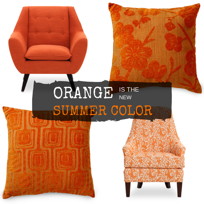 Delicieux Orange Is The NEW BLACK In Your Living Room. Shop More At SofaMart.com
