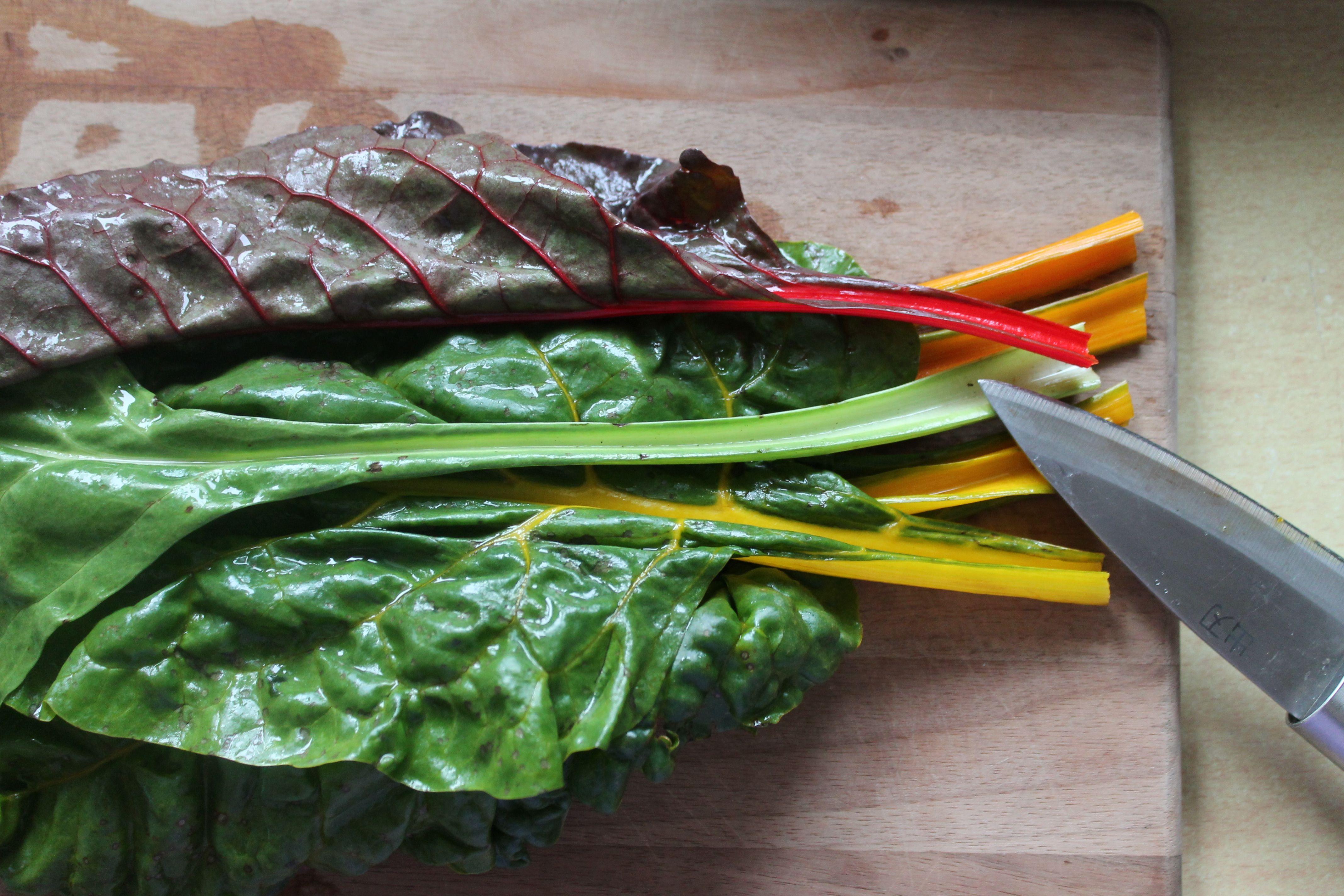 Gemüse-Bondage – Herbstliche Blätterpäckchen « OH, SOPHIA