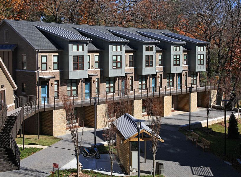 Duncan Avenue Apartments University Of Arkansas Fayetteville Green Globes Certified Designed By Allison Architects Inc An House Styles Architect Mansions