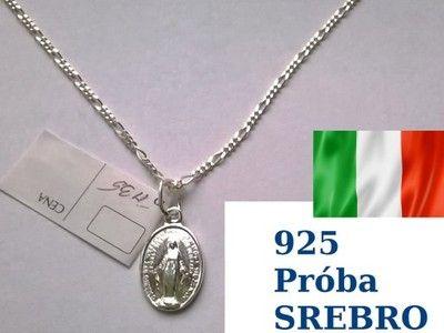 Srebrny Lancuszek 925 Cudowny Medalik Matka Boska 5969285322 Oficjalne Archiwum Allegro Pendant Pendant Necklace Jewelry