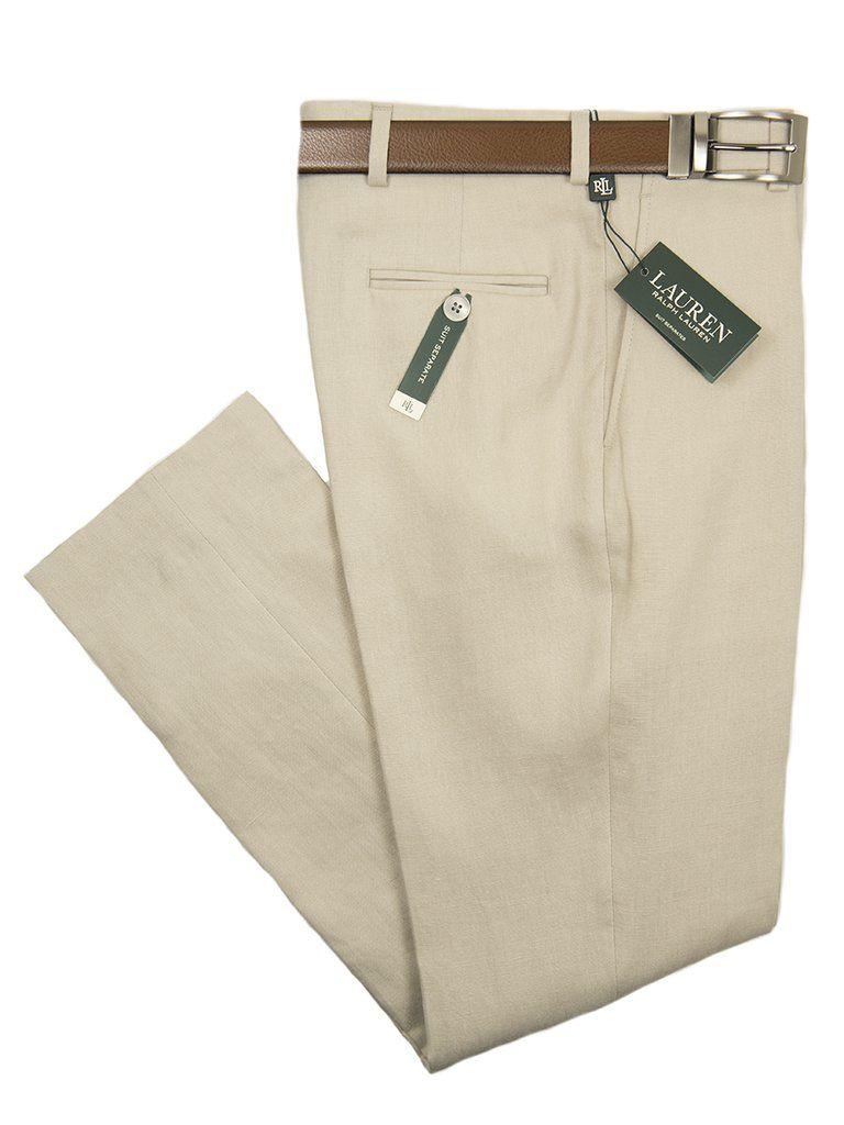 Lauren Ralph Lauren 26115p 100 Linen Boy S Suit Separate Pant Solid Tan Boys Suits Suit Separates Pants