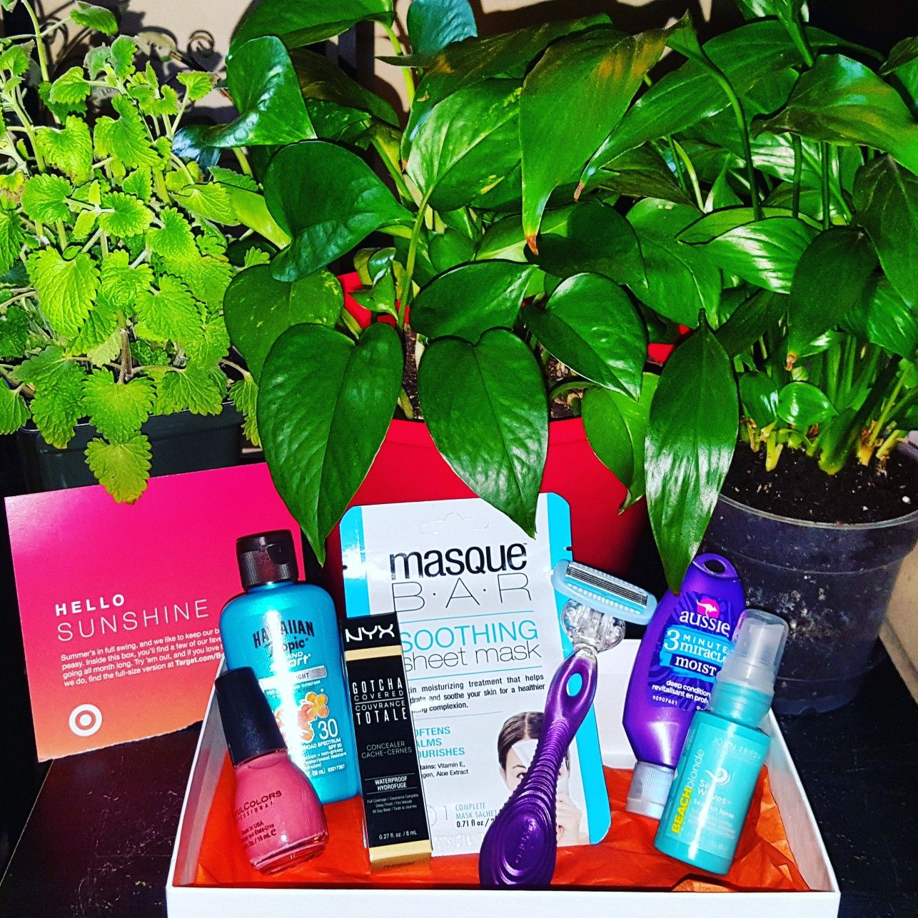#TargetBeautyBox for #June2017.. #viewmyworld321 #boxesboxesboxes #funfabfinds