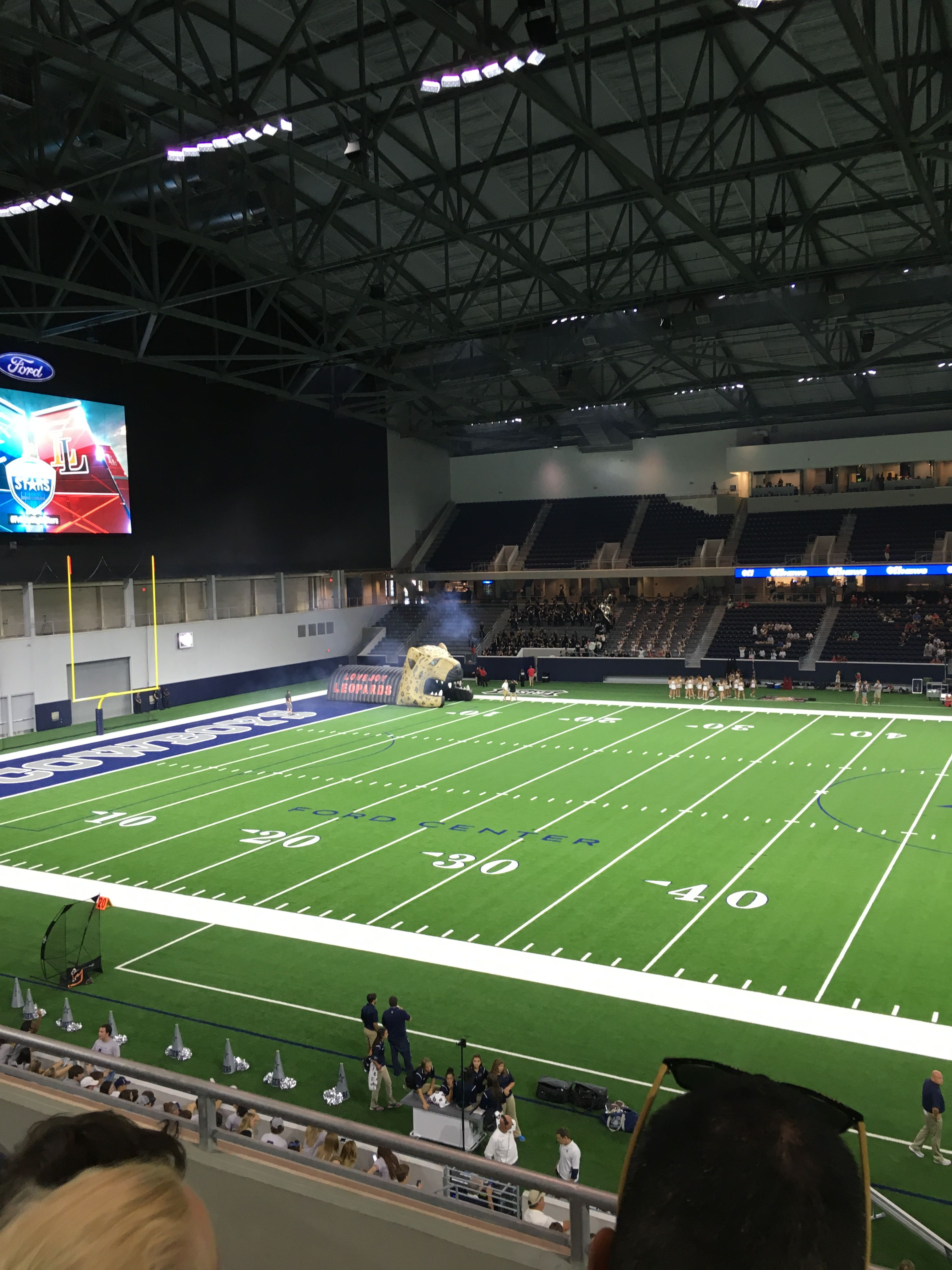 Ford Center At The Star Practice Facility Of The Dallas Cowboys Nfl