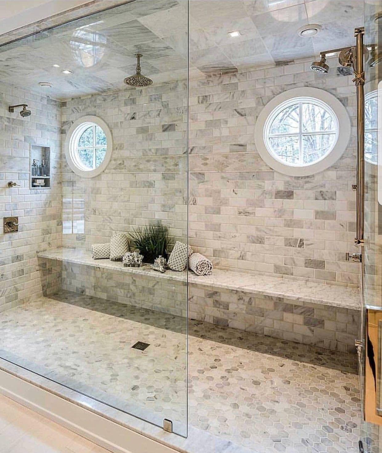 Giant Walk In Shower Master Bathroom Design Dream Bathrooms Home Interior Design