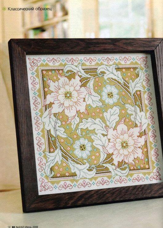 Gallery.ru / Фото #3 - Цветочный орнамент - miamora