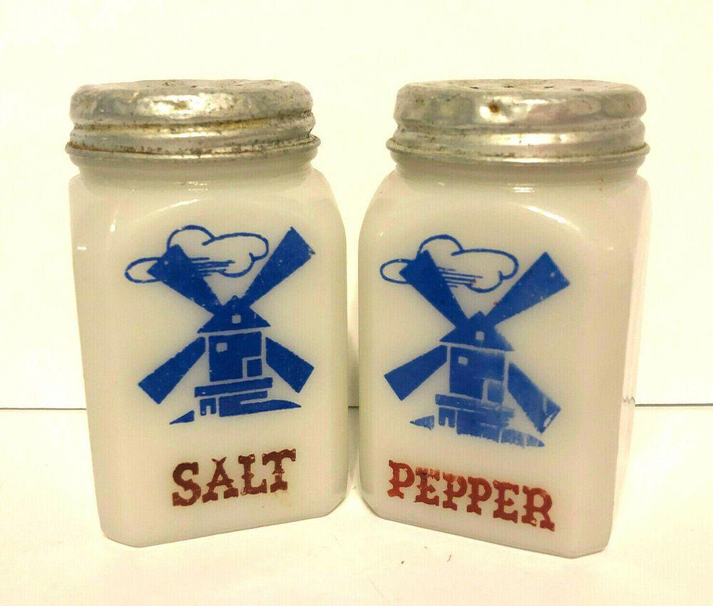 Dutch Decoration-Spice Shaker FREE SHIPPING-Vintage Hazel Atlas