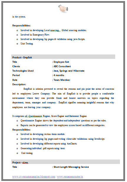 Best Engineer Resume Format Download Page   Career