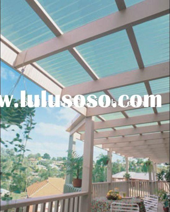 new style Bayer polycarbonate roofing Price: US $ 3 - 5 / Piece