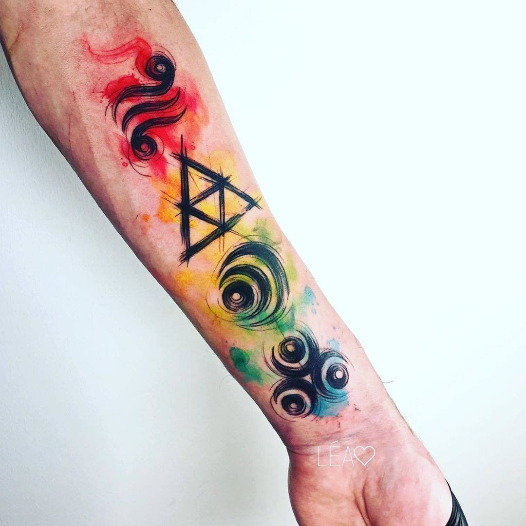 Mad Color Tattoo In 2020 Tattoos Sleeve Tattoos Tattoos For Guys