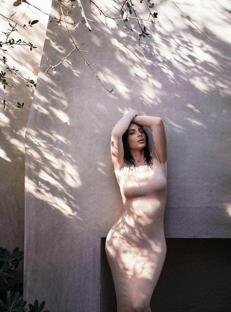 Kim Kardashian West Vogue Cover, Photographed by Mikael Jansson
