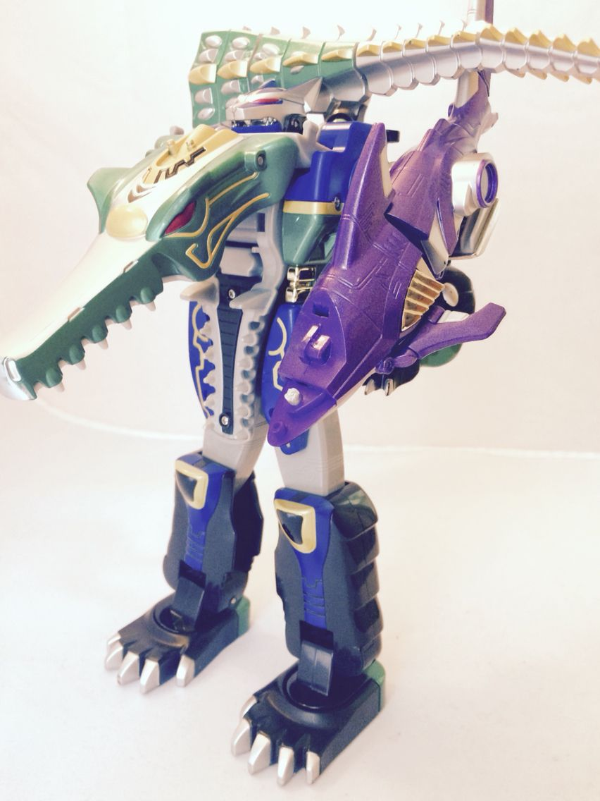 power Rangers Wild Force Crocodile Zord. Incomplete | Nick ...
