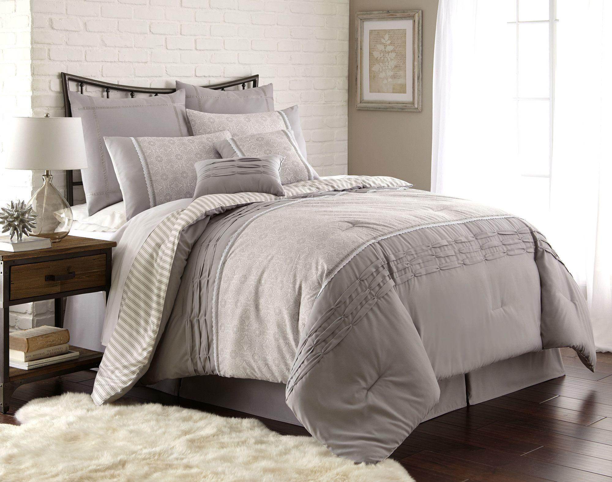 Musquee 8 Piece Comforter Set Comforter Sets Bedding Sets