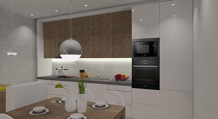 Jak Urzadzic Salon Z Aneksem Kuchennym 20m2 Fabryka Projektow Home Decor Decor Home