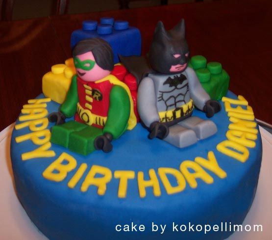 Lego Batman cake I made this cake for my sons sixth birthday at