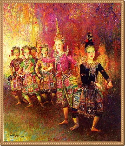 "Thailand artist at work ""Chakrabhand Posayakrit"" ศิลปะ"