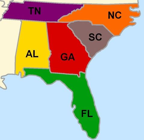 Top Motorcycle Roads in the Southeastern USA from 2 Up Touring ...