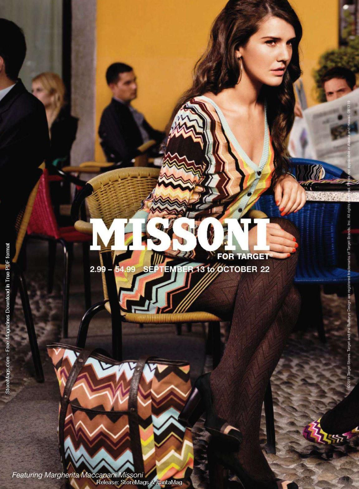 a6c944be0765 Margherita Missoni Target Ad Campaign 2011