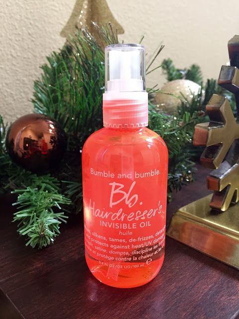 Bumble and Bumble's Invisible Oil