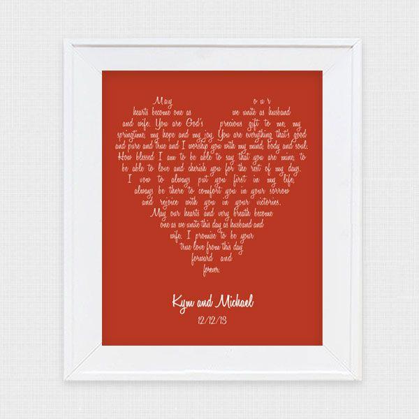 'i Do' It Yourself: Wedding Vow Art