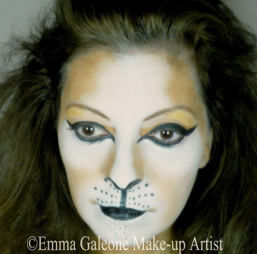 Lion make,up Trucco da leone