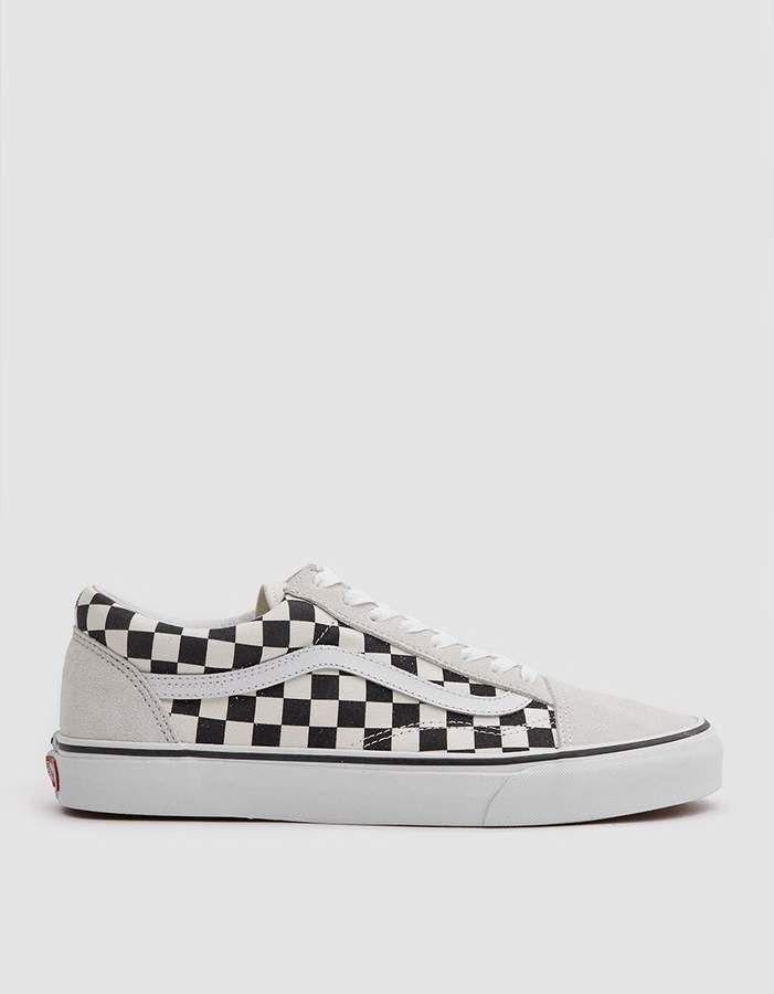 Vans / Old Skool Sneaker in Black White Checker in 2019 ...