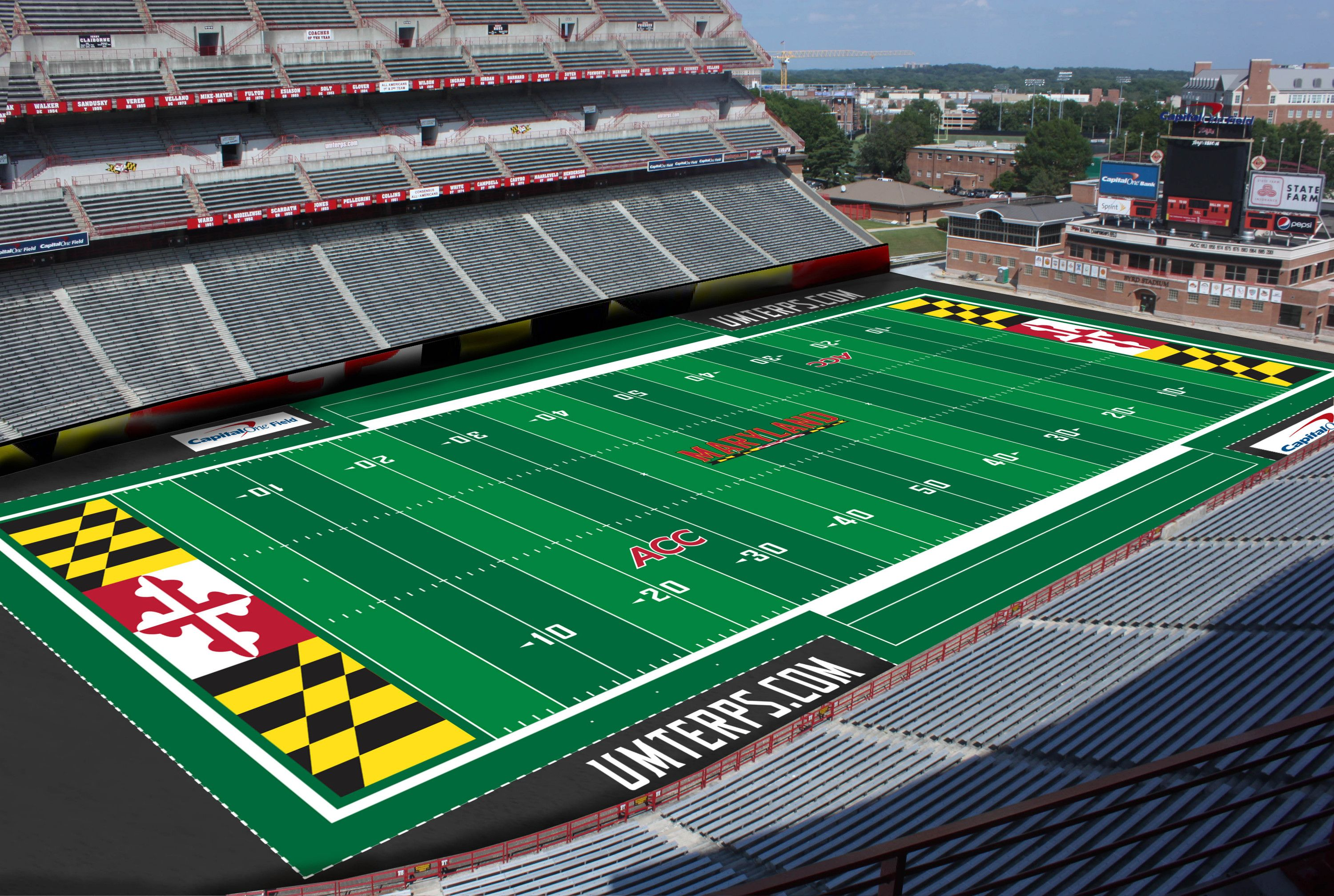 Maryland Football Stadium Google Search Football Stadiums Ohio State Football Stadium
