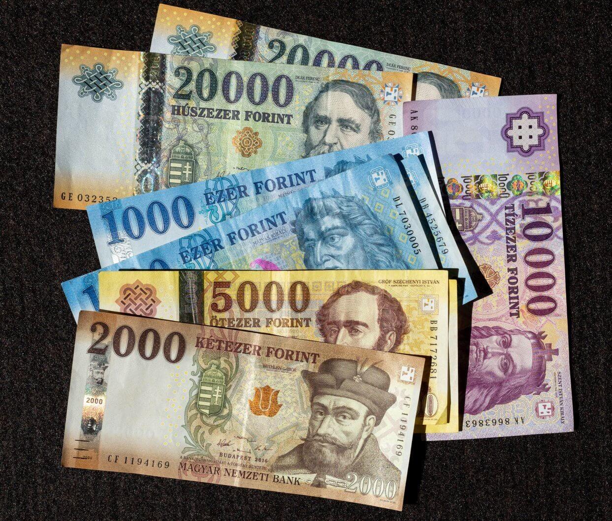 Forint Die Ungarische Wahrung Geldscheine Munzen Kurse Ungarn Geld Alte Munzen