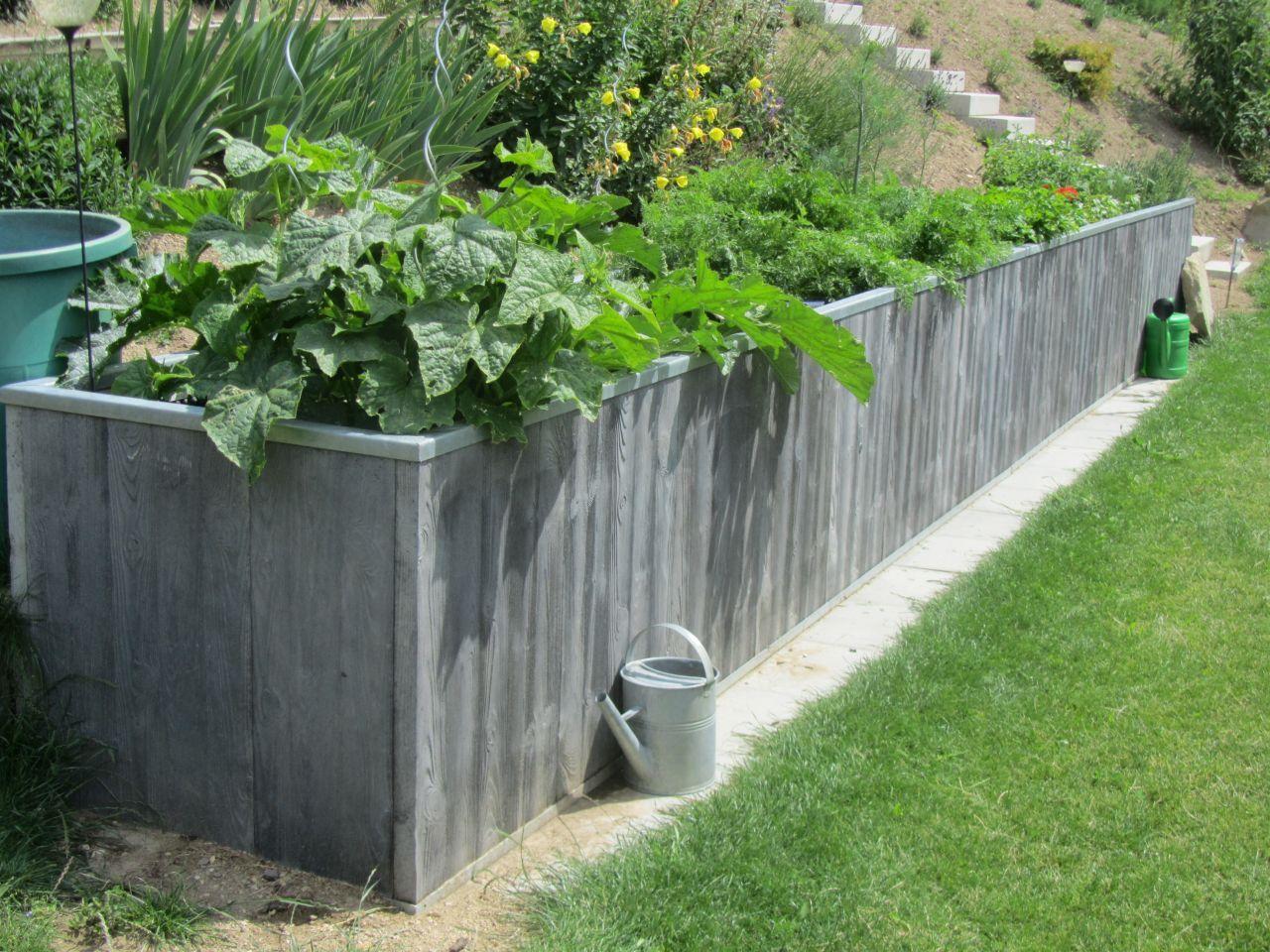 einfaches hochbeet   hochbeet.co.at - frische ideen für ihren, Garten und Bauen