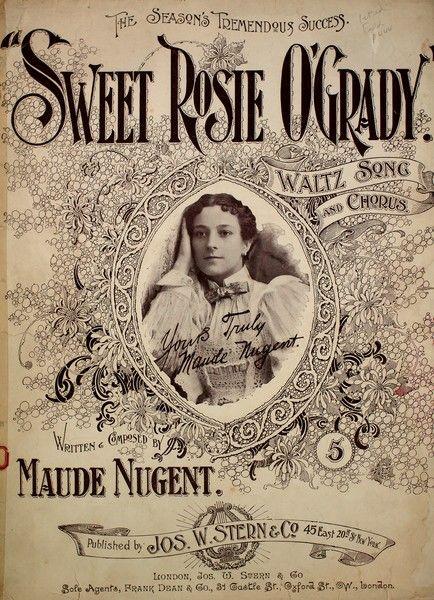 Capa de música Sweet Rosie O'Grady